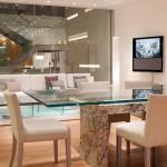 Mesa de mrmol White pearl  arquitectura diseointerior buenoshellip