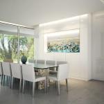 Mesa white Pearl  sillas Melandra arquitectura diseo diseointerior interiordesignhellip